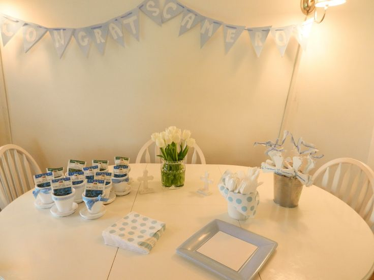 The Lily Pad: My First Communion Decorations and Ideas