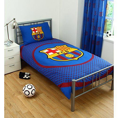 Kids' Duvet Covers - Single Duvet Set  FC Barcelona BE -- You can find out more details at the link of the image.