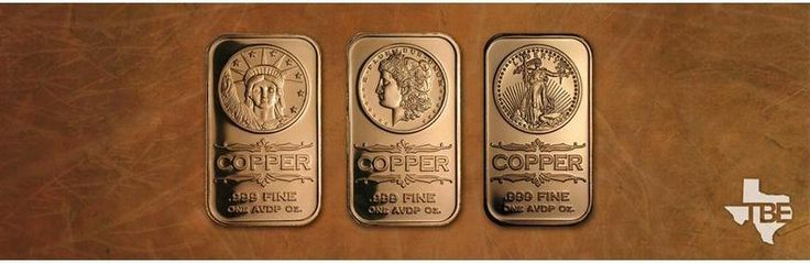 Texas Bullion Exchange offers variety of copper bars for sale online. Buy the best quality copper bullion bars today and make a great addition to any precious metals portfolio. For more information visit at https://texasbullion.com/copper/copper-bars