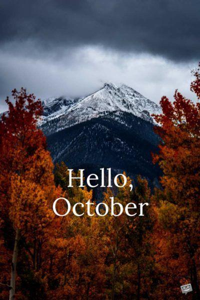 Snoopy Fall Wallpaper Best 25 Hello October Ideas On Pinterest Hello October