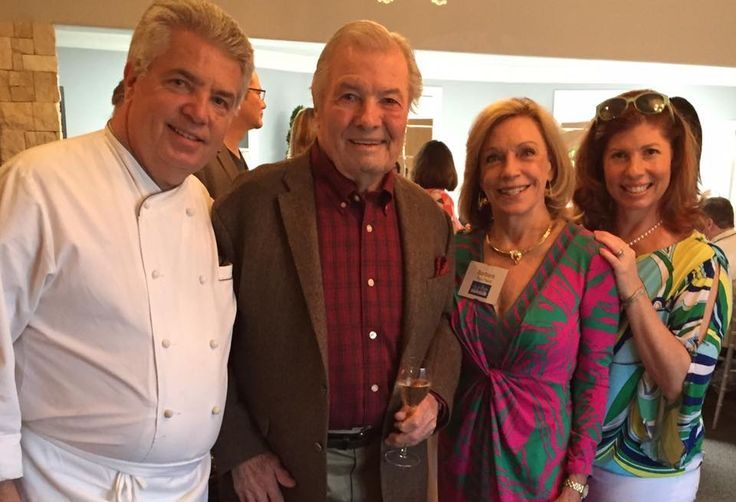 Jacques Pepin with Family and Friends.