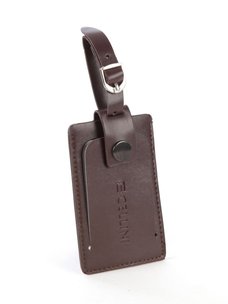 Leather Luggage Label - Accessories - Luggage