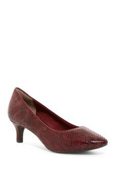 Rockport - Total Motion Kalila Snake Embossed Pump - Multiple Widths Available
