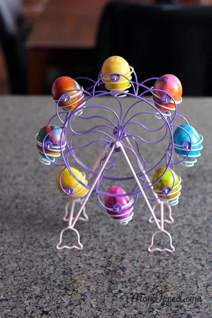 Dying Easter eggs http://www.momupped.com/how-to-dye-easter-eggs.html