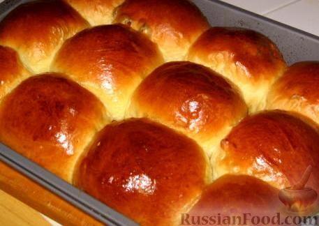 Рецепт: Булочки с мармеладом на RussianFood.com