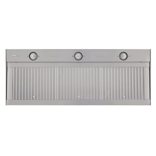 "46"" Wall-Range Hood Insert and 6"" Transition - Lights, Dimmer, Filter, 1360 CFM Fan"