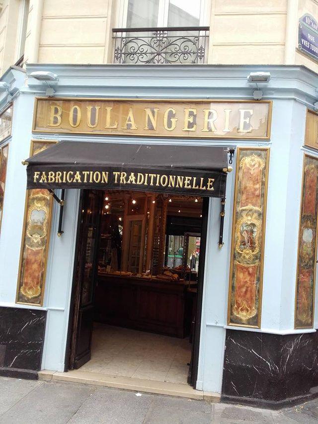 La boulangerie du Pain et des Idées  L'adresse de: Claire Dhelens 34 Rue Yves Toudic, 75010 Paris