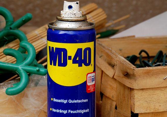 A WD-40 olyan szer, melyből egyet mindenképp tarts otthon.