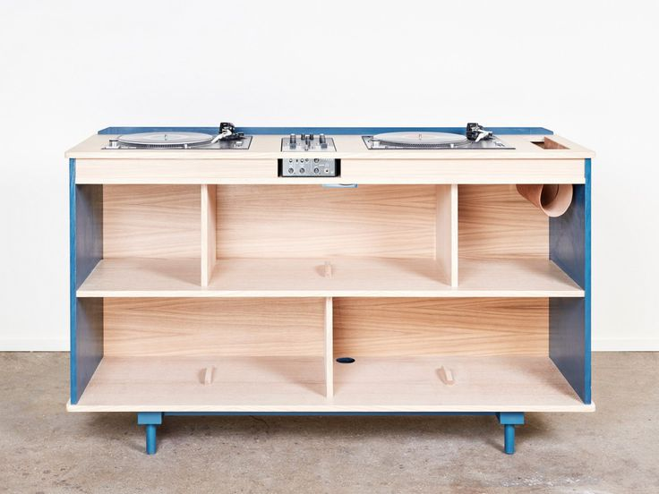 Bois Son The Wooden DJ booth for Interiors DESIGN MUSIC                                                                                                                                                     More
