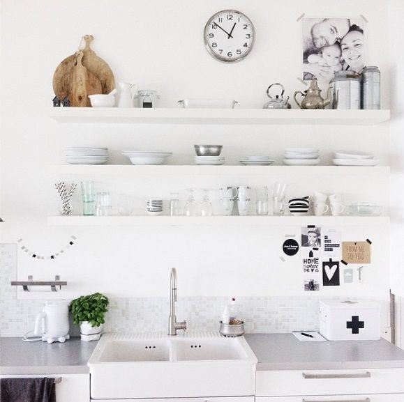 Ikea kitchen units, handles and double sink - I know because I own them!