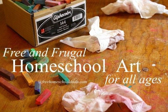 Free and Frugal Homeschool Art for All Ages!