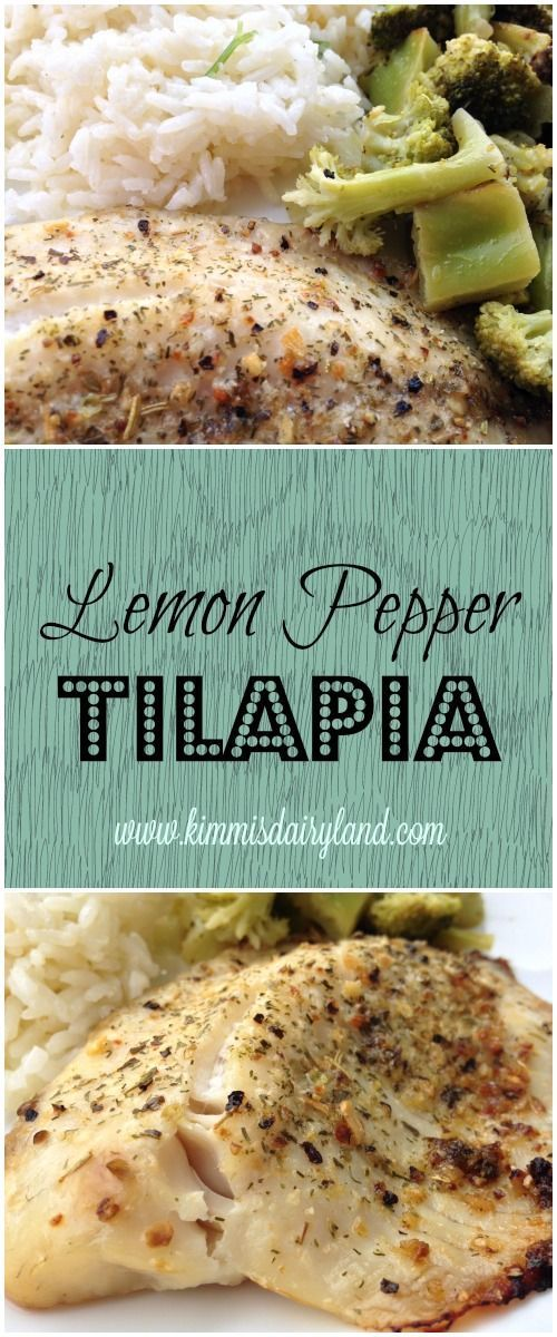 This Healthy Baked Tilapia Is An Easy And Quick Seafood Recipe Perfect For Any Type