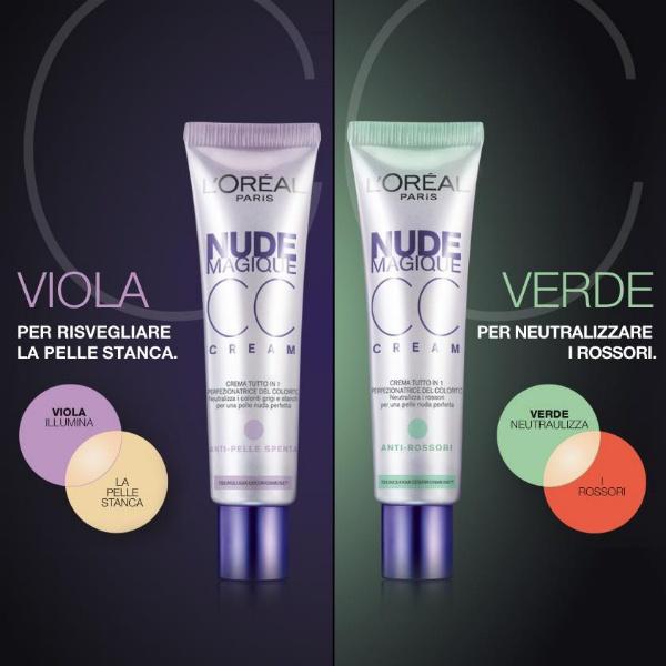 Evoluzione delle più famose BB Cream, arrivano anche in Italia le CC Cream le Color Control Cream che promettono miracoli