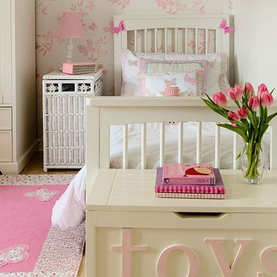 21 best love it children 39 s bedrooms images on pinterest for Cream and pink bedroom ideas