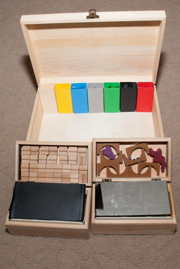 Progressive Odyssey: Board Game Storage: Carcassonne