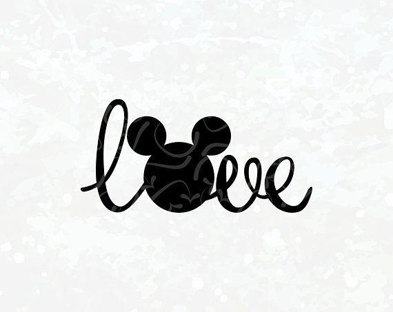 Download Disney SVG Mickey Head Love SVG Love SVG Mickey Head ...