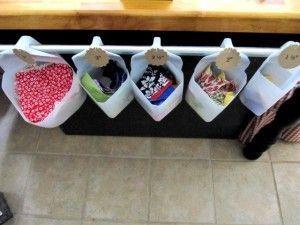 Recycled Milk Cartons For Storage #recyclingmilkcartons