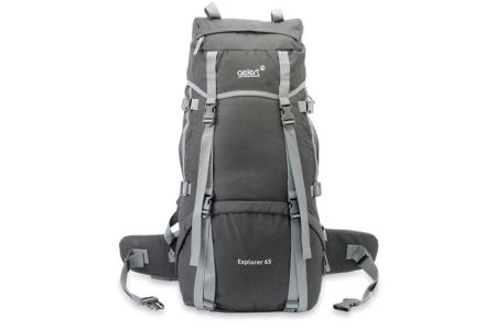 The spacious Explorer 65L Rucksack is perfect for Backpacking, camping, festivals and ideal for using during Duke of Edinburgh award expeditions.