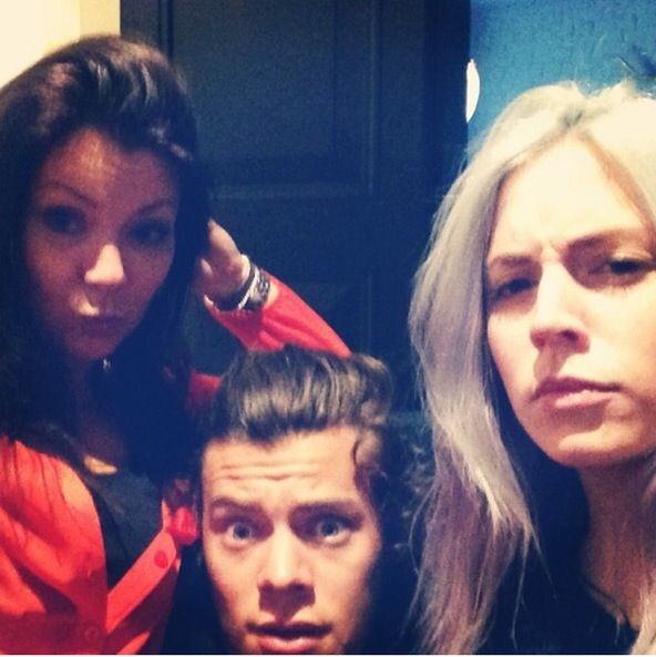 Gemma, Harry, and Anne today!