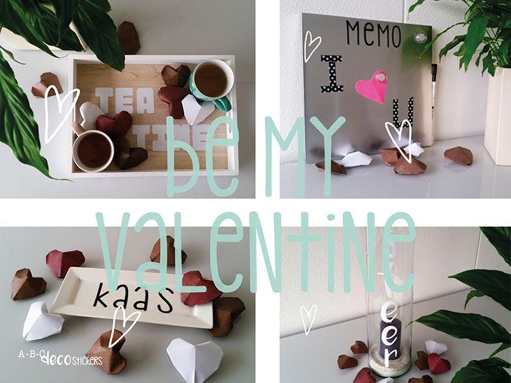 Verras jouw valentijn met een persoonlijk cadeau! Laat je weten welk cadeau je zou willen geven?   Maak je cadeau pas echt persoonlijk met ABC Decostickers. Kijk snel op www.abcdecosticker.nl voor je dichtstbijzijnde verkooppunt!