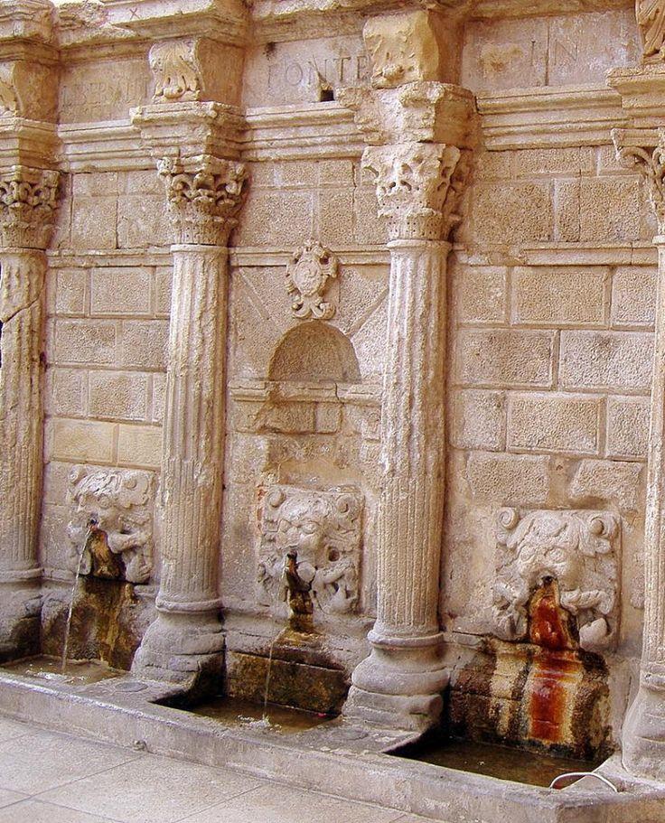 Rimondi fountain, Venetian harbour, Rethymnon - Crete