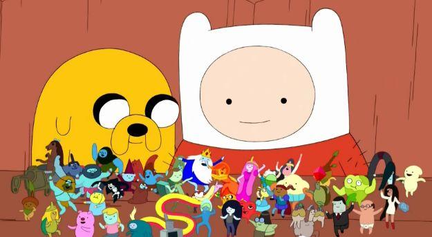 Adventure Time little friends