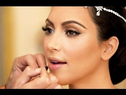 Kim Kardashian | Maquillaje de novia - Wedding makeup - YouTube