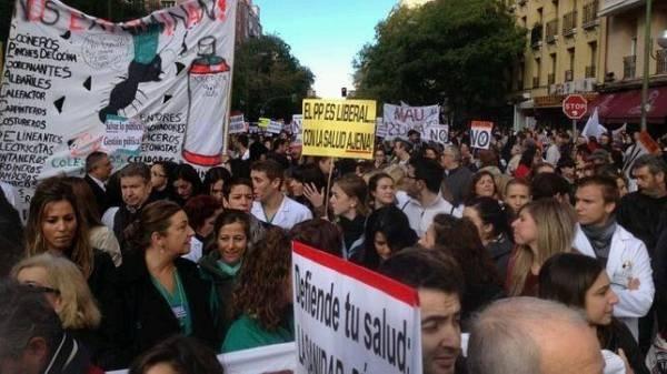 75.000 personas firman contra el cambio de modelo del Hospital La Princesa