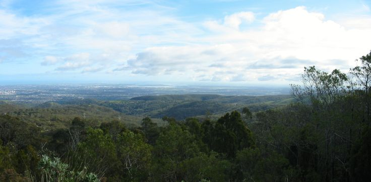 Adelaide, S.A. view from the lookout on the Flinders Rangers