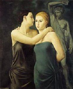 Oppi, Ubaldo, (1899-1946), Le Amiche, 1924