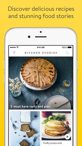 Loved by millions of users, Kitchen Stories adds the whole world of cooking to your pocket. Find delicious recipes with beautiful pictures, easy to follow step-by-step photo instructions, recipe videos, and clever how-to videos – completely FREE of charge! #ios #health #iosapps #Appstore #kitchen #cooking #recipes