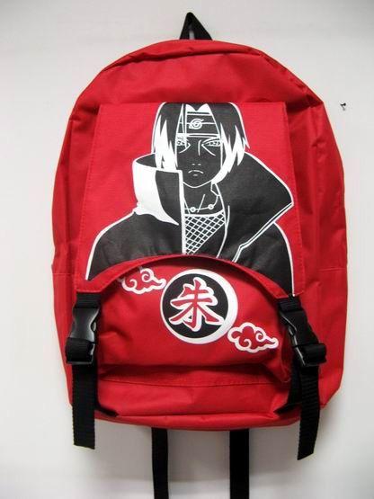 Naruto Uchiha Itachi Bag Anime Ninja Akatsuki Cosplay NABG1099