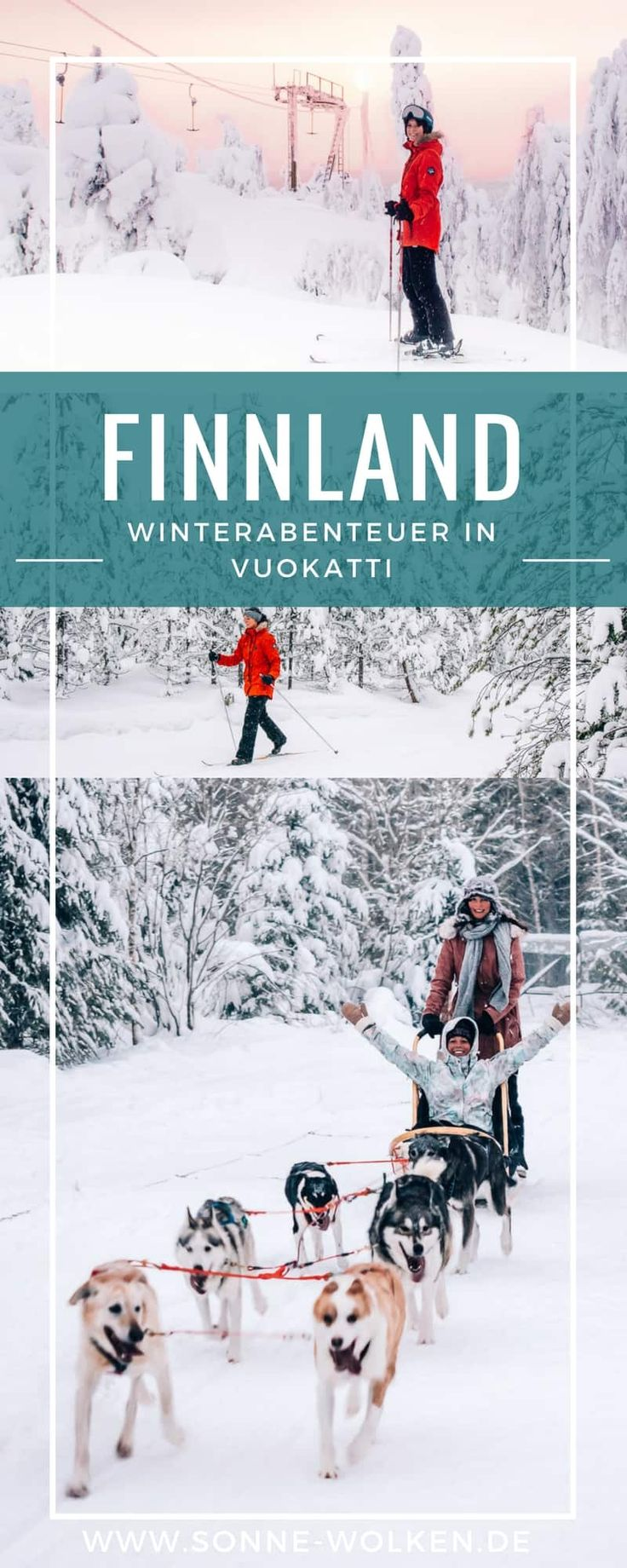 Vuokatti – Winterabenteuer in Zentralfinnland {wo Winter noch Winter ist}