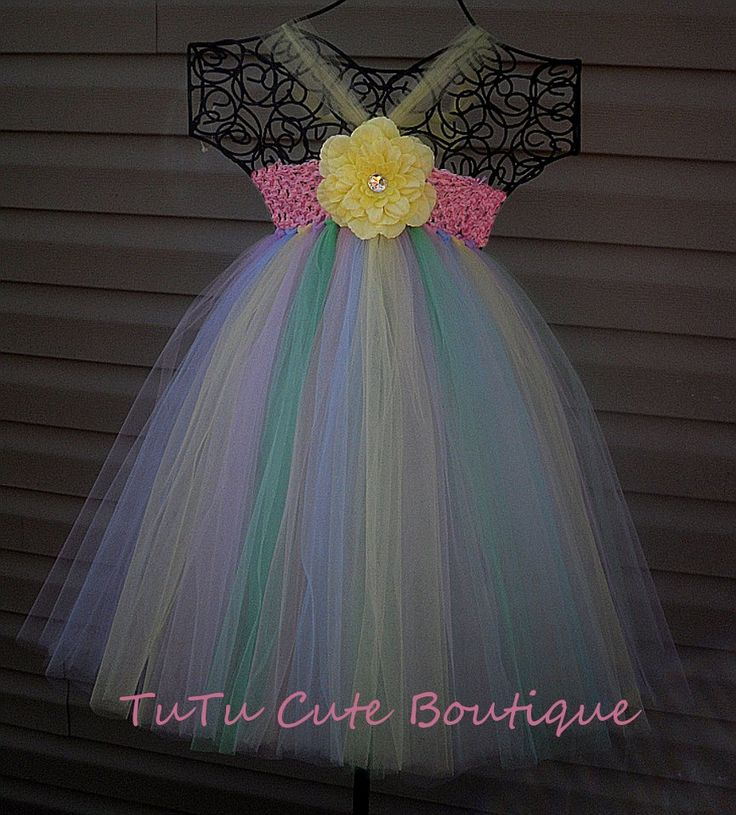 18 best Tulle hair bows images on Pinterest | Tulle hair ... - photo #27