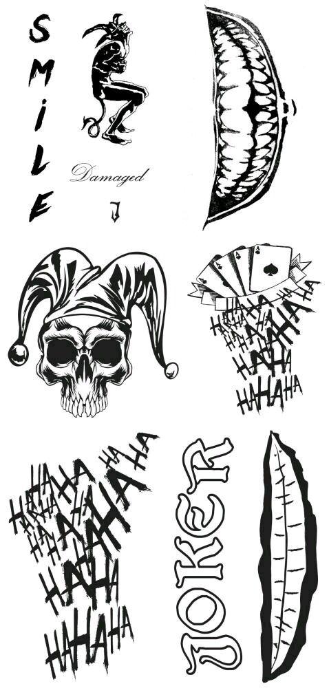 #joker#jaredleto#suicidesquad#tattoos