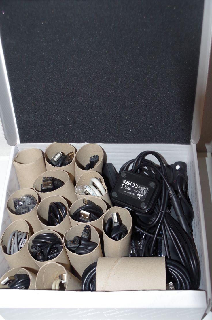 Rangement de cables super pratique – Béatrice&Déchets