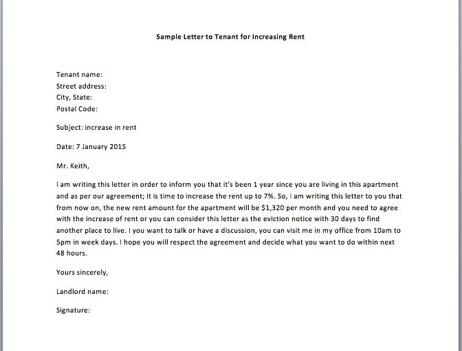 sample letter to tenant for late payment - Google Search - increment letter template