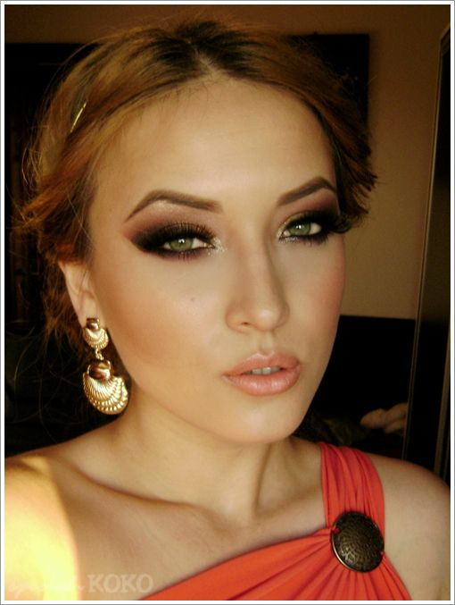 Special Koko - Make-up, beauty & fashion!: Greek Goddess - Make-up & Outfit