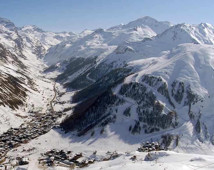 Val D'Isere Valley, French Alps