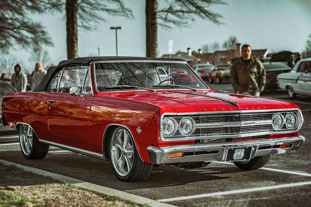 1965 Chevrolet Malibu 1st Generation 5.4L 350bhp V8 engine (Ken Lane)