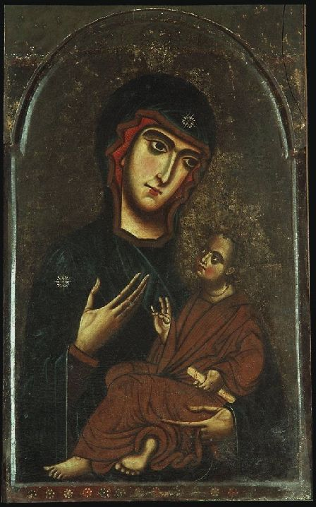 Madonna Pisa Madonna Pisa Autore Maestro della Sant'Agata? Data 1250-1280 circa Tecnica tempera su tavola Dimensioni 98 cm × 60 cm Ubicazione Galleria degli Uffizi, Firenze