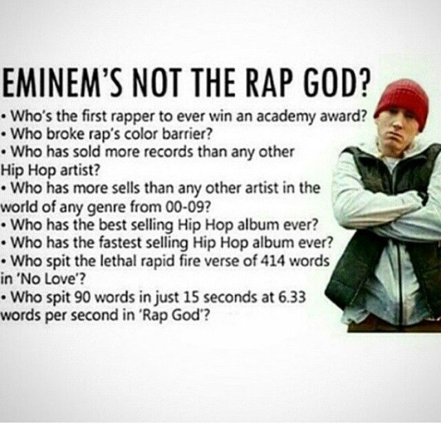 Eminem Shady Rap God