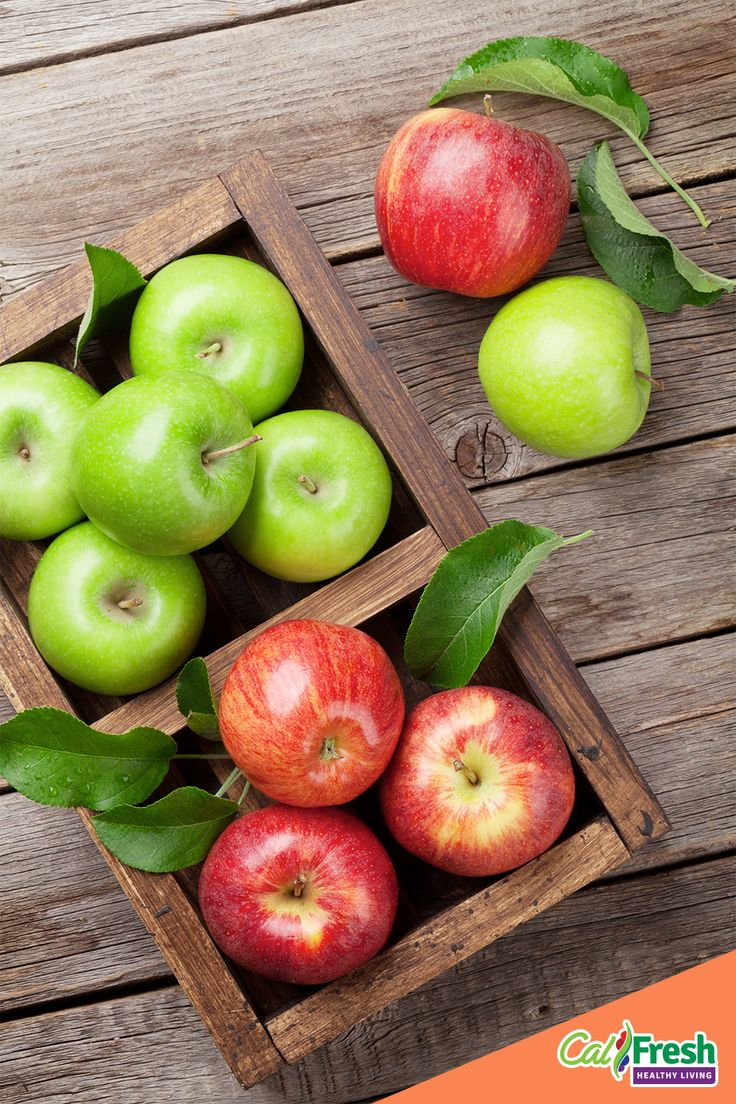 October is National Apple Month. For this fall snack