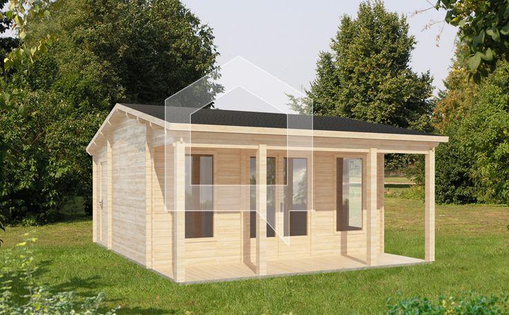 To więcej niż tylko mały domek! To przestrzenny pokój, duże okna, przytulny taras. Miłe chwile z rodziną gwarantowane.