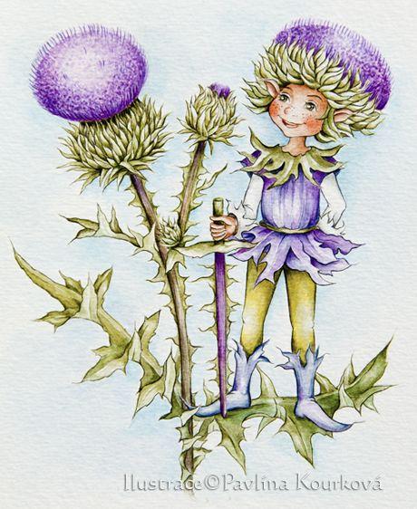 Thistle fairy