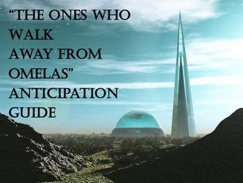 How would you critically review the short story 'The Ones Who Walk Away From Omelas'?