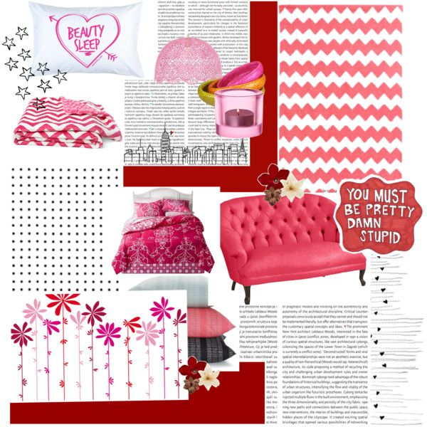"""shocking pink"" by rubygrosse on Polyvore"