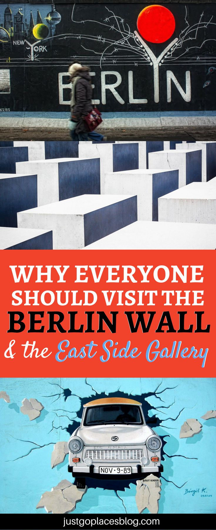 When it comes to Berlin's attractions and Berlin's things to do, the Berlin Wall Art and the East Gallery of Berlin will blow your mind away #Berlin #BerlinWall #StreetArt -via @justgoplaces