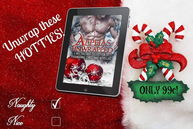 Book-o-Craze: Spotlight {Book Trailer & Giveaway} -- Alphas Unwrapped (Naughty Christmas Anthology by Various Authors)