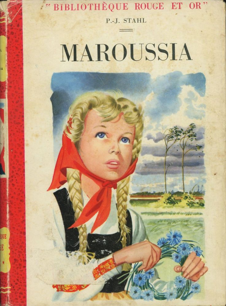 Pierre Le Guen - P.-J. Stahl Bibliothèque Rouge et Or 1955